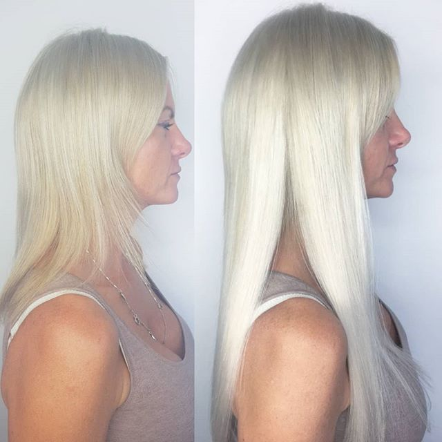 Side profile change #hairtransformation
