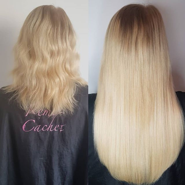 Gorgeous mini locks transformation from