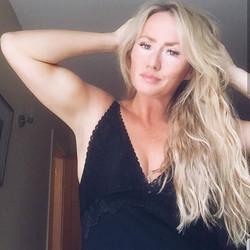 My beautiful vegan client loving her ult