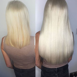 Iced this baby up ! #hairextensions