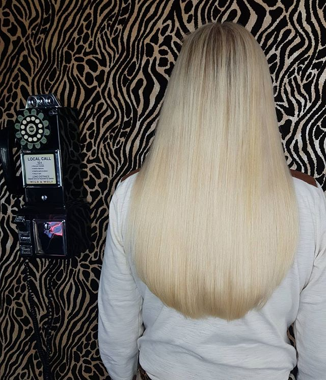 16inch prebonds blondie _) so gorgeous..