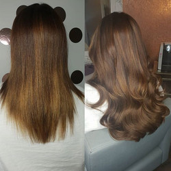 Beautiful tape extensions 😍😍