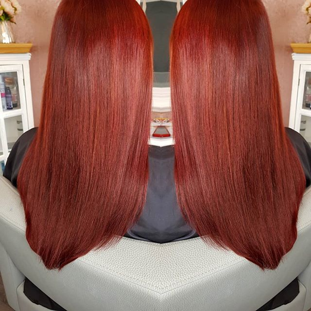 Intense rich beautiful red 😍❤ 14inches