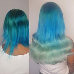 Blue hair hun!