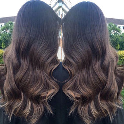 #hairextensions #balayage #brunette #bea
