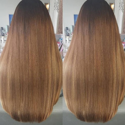 18 inch tape hair extensions mix of colo