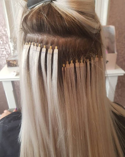 Great growth from ultra tip hair extensi
