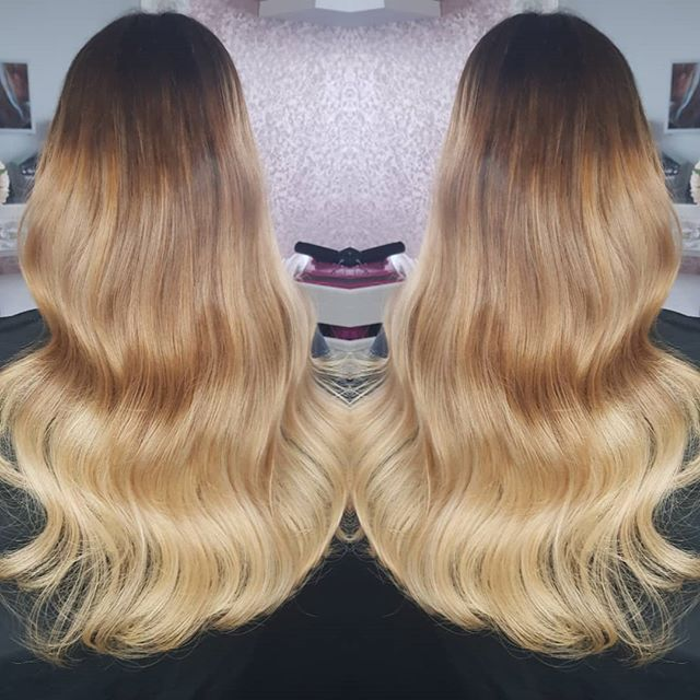 Beautiful micro bead extensions for my l