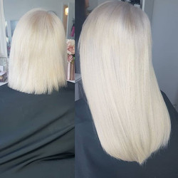 14inch tape hair extensions looking amaz