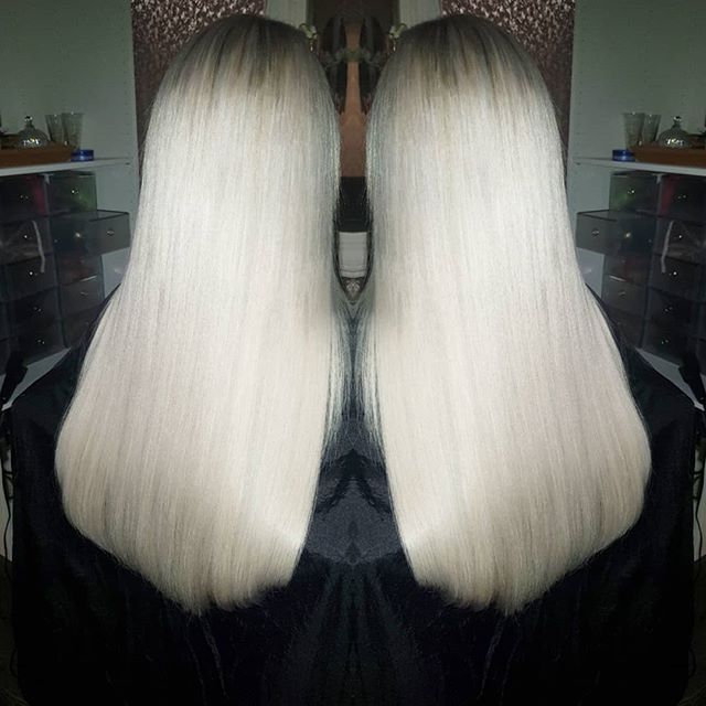 Platinum princess ♥️♥️ #hairextensions _