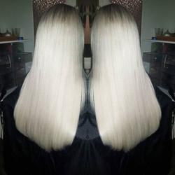 Platinum princess ♥️♥️ #hairextensions _