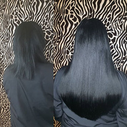 16 inch mini tips 😍__#hairextensions #b