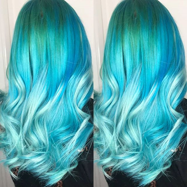 🦄🍬🍬 mermaid hair!!!🍬🍬🦄 14 Inch Tap