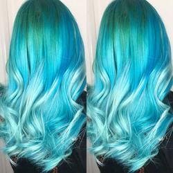 🦄🍬🍬 mermaid hair!!!🍬🍬🦄 14 Inch Tap