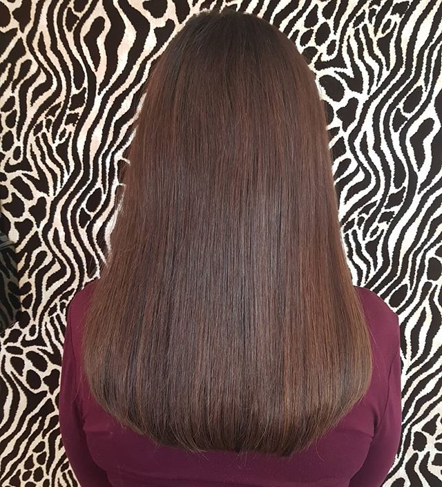 Gorgeous natural mixed brunette shades m