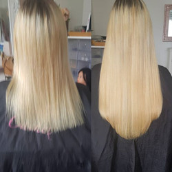 Lovely transformation today with 18 inch