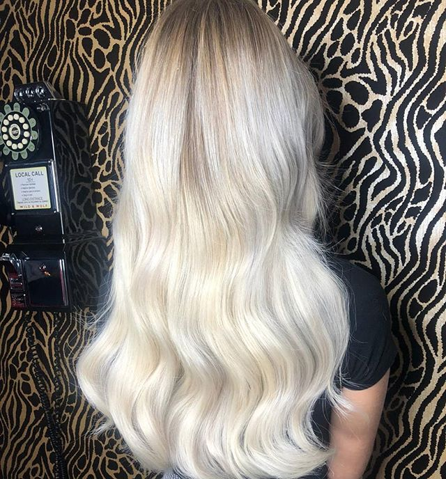 Another blonde bomb from today ❤ Blowdry