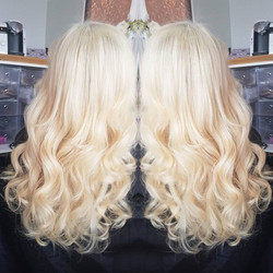 Refit of old tape extensions , still fab