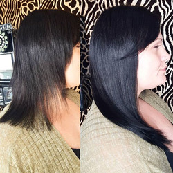 Love this transformation for my client ❤