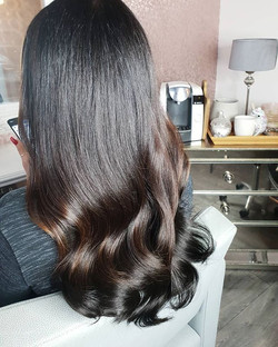 Gorgeous half head of tape extensions th