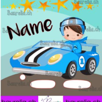 Schutzfolie Toniebox Rennfahrer 2