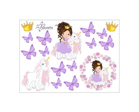 Stickerbogen Prinzessin 4