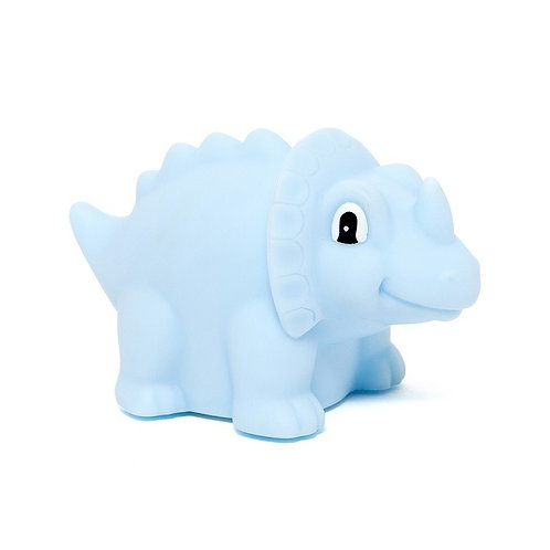 Nachtlicht Triceratops Blau