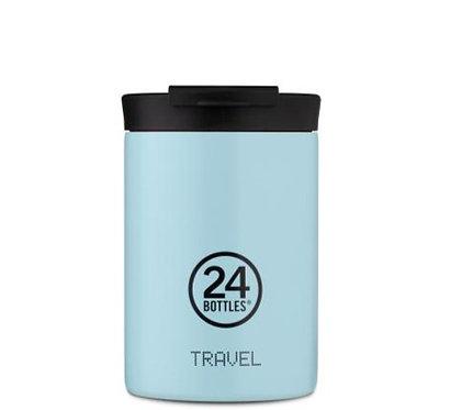 24Bottles Thermobecher Travel Tumbler 350 ml Cloud Blue