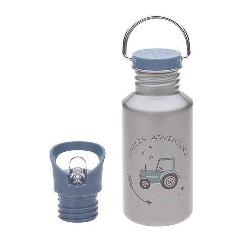 Lässig Kinder Trinkflasche Edelstahl Adventure Traktor