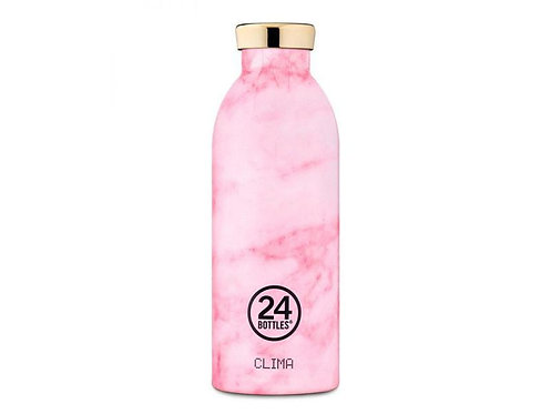 24Bottles Thermosflasche Clima 500 ml Pink Marble