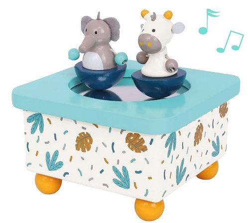 Idis Musikdose Elefant & Giraffe