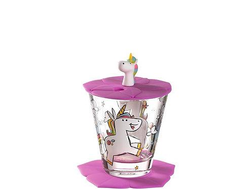 Leonardo Trinkglas für Kinder Einhorn