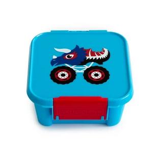Little Lunch Box kaufen, Little Lunch Box personalisiert, Znünibox leicht, Lunchbox leicht,Znünibox personalisiert,blau,truck