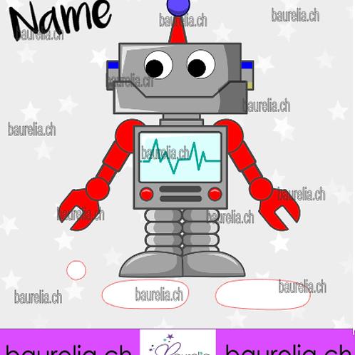 Schutzfolie Toniebox Roboter 4
