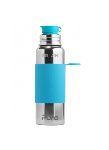 Pura Sport Isolierflasche 650ml Blau
