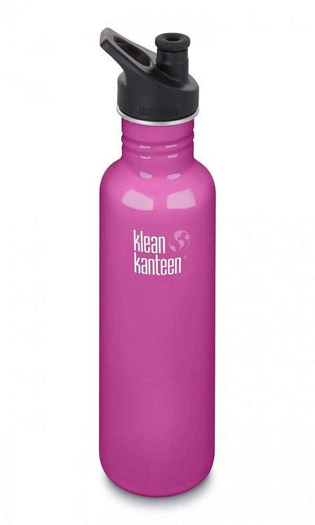 Klean Kanteen Classic Sport 800ml Wild Orchid - Pink