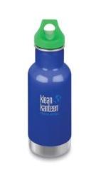 Klean Kanteen Kid Thermotrinkflasche 355ml Blau