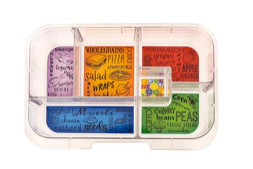 Munchbox Inlay mit 6 Unterteilungen