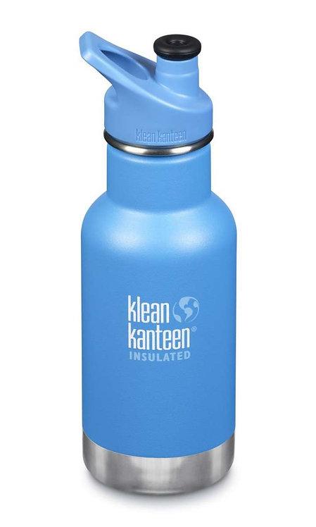 Klean Kanteen 12oz Kid Thermotrinkflasche 355ml Pool Party - Blau