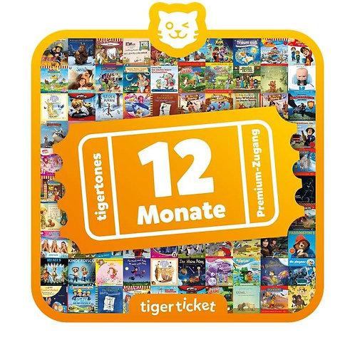 tigerticket 12 Monate Swiss Edition