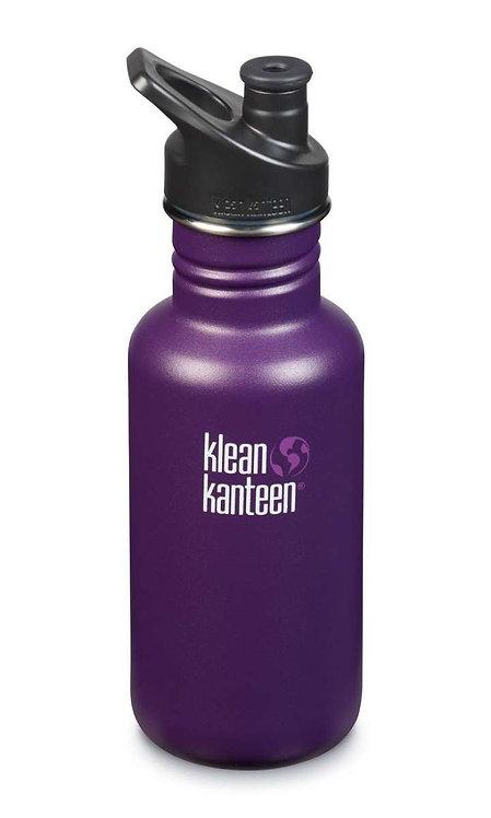 Klean Kanteen Classic Sport 532ml Winter Plum - Violett