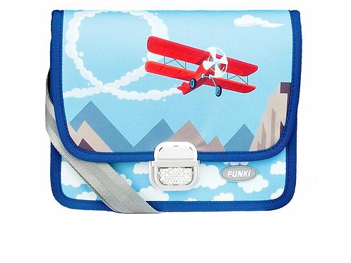 Funky Kindergartentasche Flugzeug