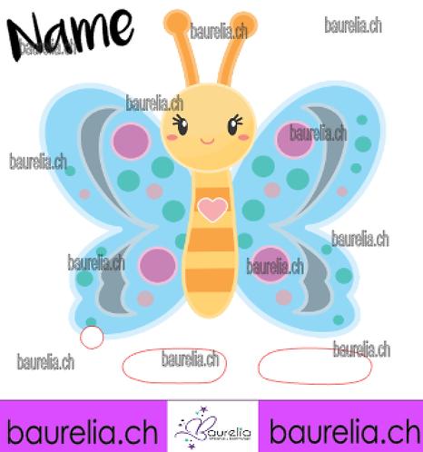 Schutzfolie Toniebox Schmetterling 21