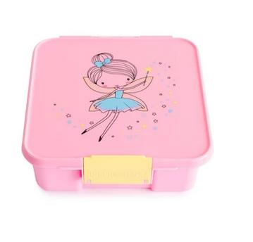 Little Lunch Box kaufen, Little Lunch Box personalisiert, Znünibox leicht, Lunchbox leicht, Znünibox personalisiert,rosa,fee