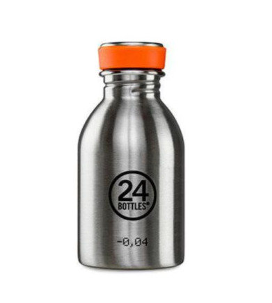 24Bottles Trinkflasche Urban 250ml Steel