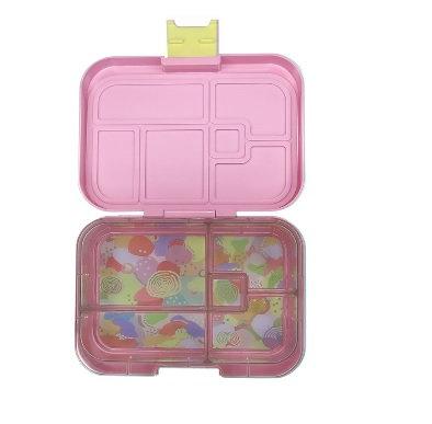 Munchbox mit 5 Unterteilungen Pastell Rosa