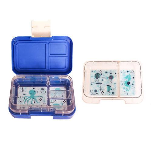 Munchbox, Munchi Snack, blau, Kinder Znünibox, Kindergarten Znünibox, Spielgruppe, personalisiert, beschriftet, auslaufsicher