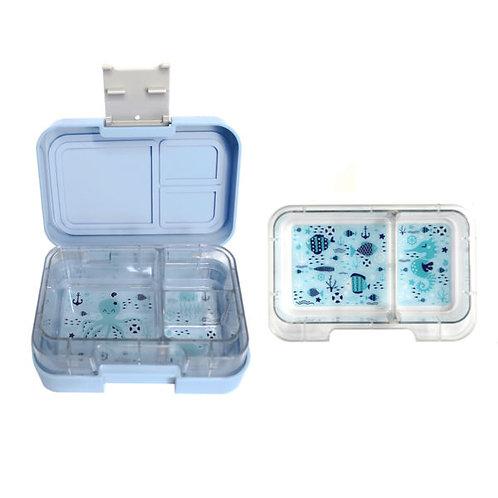 Znünibox Blau, Munchi Snack blau, Lunchbox Blau, Znünibox kaufen, Lunchbox kaufen, Znünibox Kinder, Lunchbox Kinder