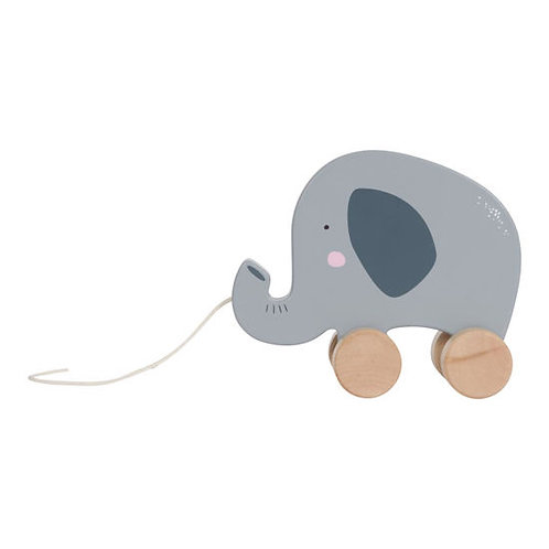 Little Dutch Nachziehtier, Nachziehtier Elefant, Little Dutch personalisiert, Nachziehtier personalisier