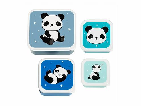 ALLC Lunchbox Panda 4er Set